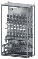 Media cabinet for temperature management in pressure die-casting processes